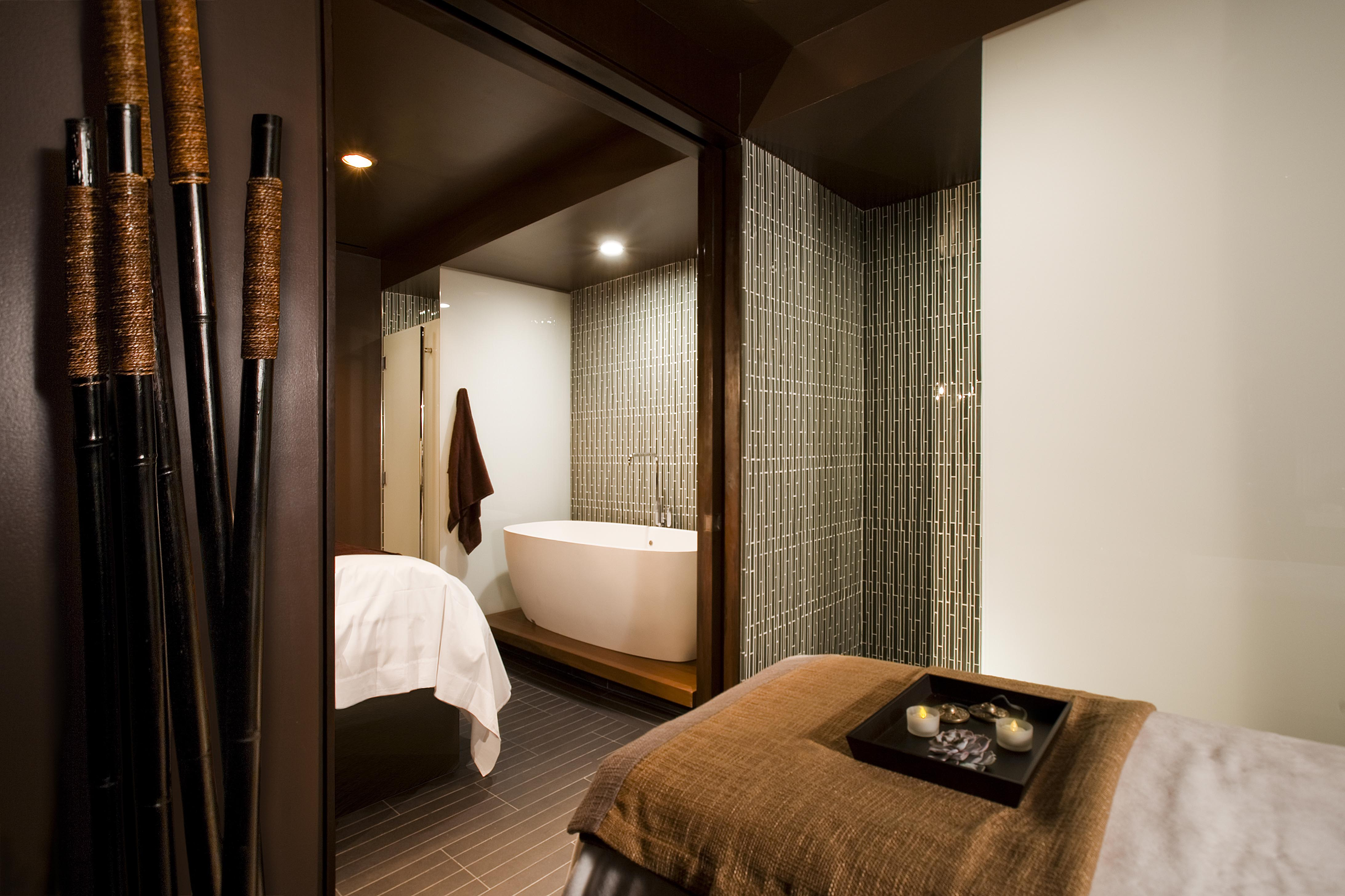 Robert Henry, rdh-architects.com, describes elements used in spa therapy design.
