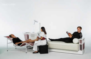 Robert D Henry Furniture Line - Zero-G Lounger, Concierge, and Masquerade.