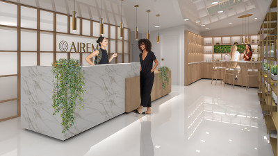 Image of interior design rendering of AIREM